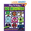 Ht Draw 101 Monsters (How to Draw)