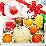 母の日ギフト 季節のフルーツ盛り合わせ(2-3kg)(産地直送 花とフルーツ グルメギフト 高級ギフト のし対応)(メロン オレンジ グレープフルーツ キウイ マンゴー 桃 ぶどう りんご などから盛り合わせ)