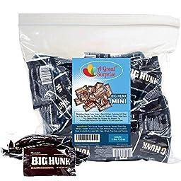 Big Hunk Mini Bars, 2 LB (Appx. 70 Bars) Bulk Candy