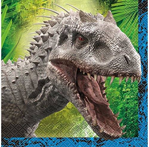 Jurassic World Luncheon Napkins, 16ct