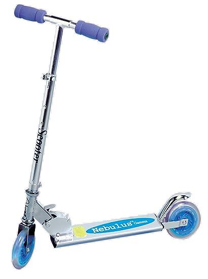 bleu nébuleuse scooter pliant
