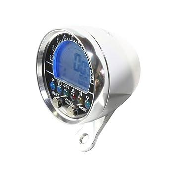 di Carburante e di Marcia Tachimetro con Funzione contagiri indicatore di Temperatura Acewell ACE-3250