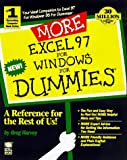 MORE Excel 97 For Windows For Dummies (For Dummies (Computers)) (0764501380) by Harvey, Greg