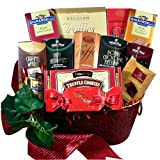 Decadent Chocolate Truffles and Delightful Chocolate Treats Gift Basket