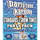 Party Tyme Karaoke - Standards & Show Tunes Party Pack (64-song Party [4 CD]