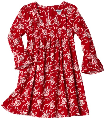 Hartstrings Girls 2-6X Little Printed Corduroy Dress
