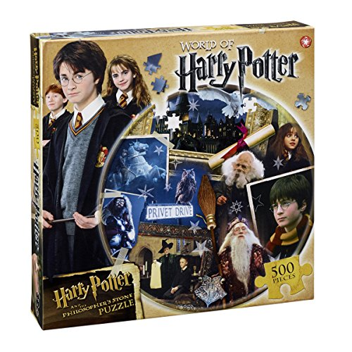 Winning Moves 022606 - Puzzle Puzzle 500 Pezzi Harry Potter La Pietra Filosofale, Versione Italiana