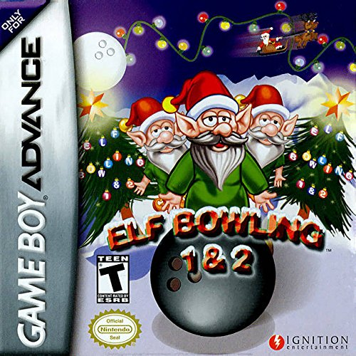 Elf Bowling 1 and 2 - Game Boy Advance (Elf Bowling Game compare prices)