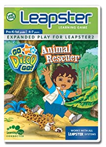 LeapFrog Leapster Learning Game Go Diego Go!