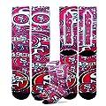 San Francisco 49ers Montage Promo Socks