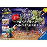 Ravensburger - 18982 - Jeu Scientifique - Traces De Dinosaures Midi Scie