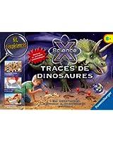 Ravensburger - 18982 - Jeu Scientifique - Traces De Dinosaures Midi Scie