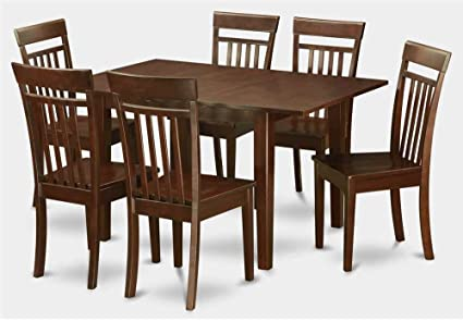 7-Pc Wooden Dining Table