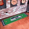 "Fan Mats 9029 NFL - Seattle Seahawks 18"" x 72"" Putting Green Mat"