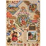 Janlynn Autumn Sampler Counted Cross...