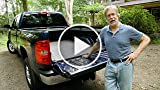 Keep your truck tailgate clear with a simple gravel...