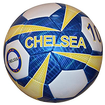 Vizari Chelsea Mini Trainer Ball, Blue, Size 1