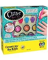 Créativité pour Kids Glitter Nail Art