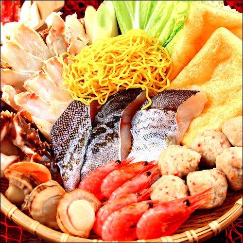 小樽産えび魚醤入り海鮮塩ダレ鍋セット【北海道海鮮鍋セット】