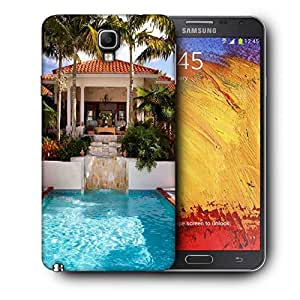Snoogg Abstract Swimming Pool Printed Protective Phone Back Case Cover For Samsung Galaxy NOTE 3 NEO / Note III