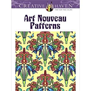 Amazon.com - Patrones creativo asilo Art Nouveau Coloring Book -