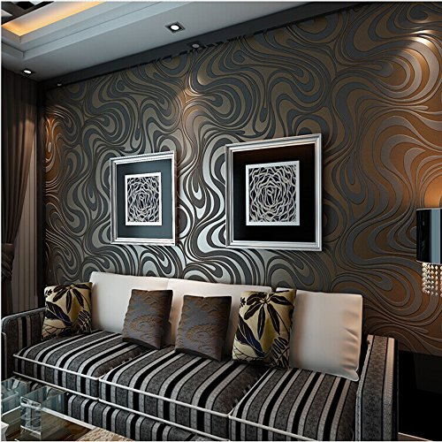 qihang-modern-luxury-abstract-curve-3d-wallpaper-roll-mural-papel-de-parede-flocking-for-striped-bla