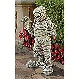 Design Toscano Wrapped Too Tight Garden Mummy Halloween Statue