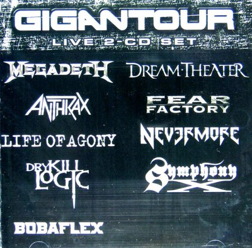 Gigantour Ed by Various Artists and Megadeth