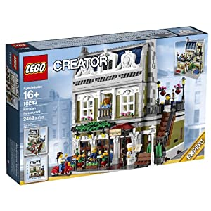 LEGO 10243 Creator Parisian Restaurant Lego Creator (Japan import / The package and the manual are written in Japanese)