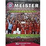 FC Bayern München 2017 - Posterkalender, Fußballkalender, Fankalender - 48 x 64 cm