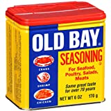 One 6 oz Old Bay Seasoning