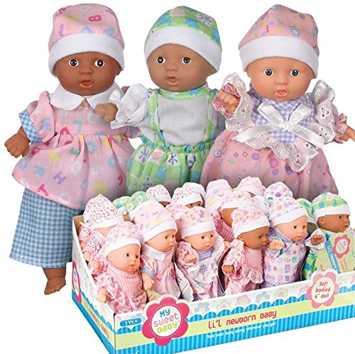 Toysmith Mini Baby (Sold Individually - Outfits and Skin Color Vary)