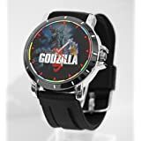 Godzilla Final Wars Round Custom Watch Fit Your Shirt (Color: Black)