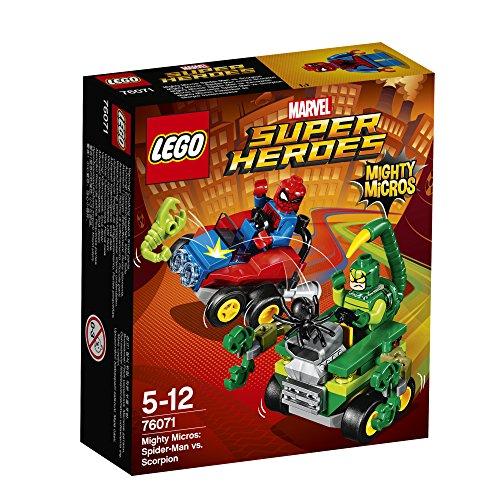 レゴ(LEGO)スーパー・ヒーローズ マイティマイクロ:スパイダーマン vs スコーピオン 76071
