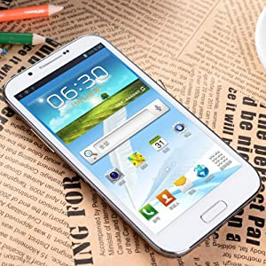 5.3 Inch Feiteng H7100 Android 4.1 3g Smart Phone with QHD Screen GPS Dual SIM Dual Core 1ghz 8mp Camera 1gb RAM (White)