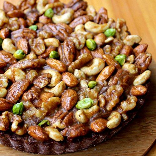 ロハスオリジナル 手作り Vivo木の実いっぱいのローチョコレートタルト