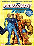Fantastic 4 Color & Activity Book with Stickers