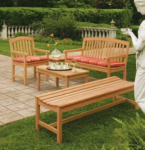 Oxford Garden Shorea Backless Bench