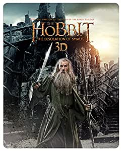 The Hobbit: The Desolation Of Smaug - Limited Edition Steelbook [Blu-ray 3D + Blu-ray + UV Copy] [2013] [Region Free]