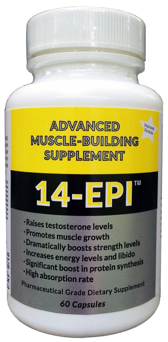 Amazon.com: 14-Epi: Advanced Muscle Building Supplement - Promotes ...