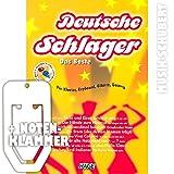 Deutsche Schlager DAS BESTE (+ 2 Playback CDs) inkl. praktischer Notenklammer – Die 30 besten und beliebtesten deutschen Schlager von GRIECHISCHER WEIN bis EIN STERN DER DEINEN NAMEN TRÄGT arrangiert für Klavier, Keyboard, Gitarre und Gesang von leicht bis mittelschwer (Taschenbuch) von Helmut Hage (Noten/Sheetmusic)