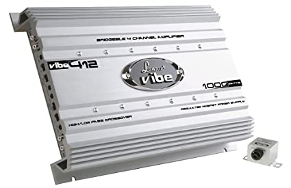Lanzar Mosfet Amplificateur 1000 W 4 canaux Argent
