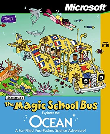 The Magic School Bus Explores the Ocean [Old Version]