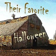Their Favorite Halloween (       UNABRIDGED) by Susan Hancock Narrated by Susan Hancock