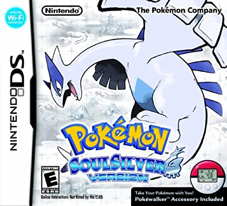 Limited Edition Pokemon SoulSilver Version with Figurine