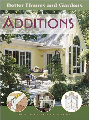 Better Homes and Gardnes Additions : How to Expand Your Home, BETTER HOMES AND GARDENS BOOKS (EDT)