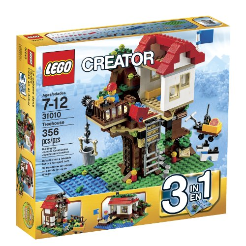 LEGO Creator Treehouse 31010 Toy Interlocking Building Sets Amazon.com