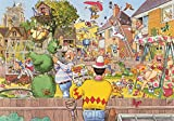 Wasgij Original 6 - Blooming Marvellous - 500 Piece Jigsaw Puzzle