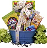 Great Arrivals Kids Birthday Gift Basket for Boys Ages 9 to 12, Birthday Tunes
