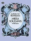Missa Solemnis in Full Score (Dover Music Scores)